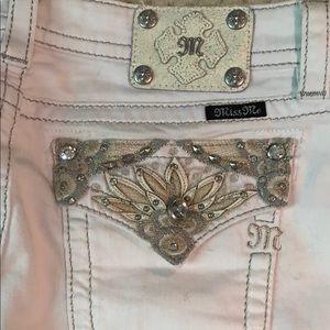 MissMe jeans white